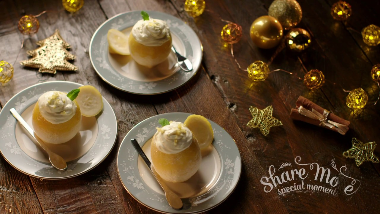 Christmas Recipes From Lidl Frozen Lemon Syllabub Cups