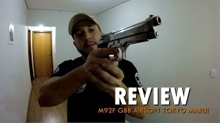 REVIEW - Beretta M92F | Chrome Stainless Tokyo Marui GBB (PT-BR)
