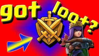 Clash of Clans: Best League for TH9 Farming GOLD LEAGUE!!!