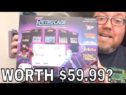 Arcade Games at Home with Super Retro-Cade - Unboxing and Review | RIGGS