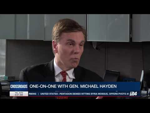 Ex-CIA dir. Michael Hayden tells i24 News' Dan Raviv about Trump, Russians, intercepts