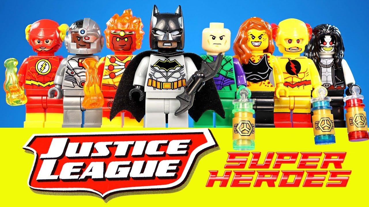 FIRESTORM DC COMICS MINIFIGURE FIGURE LEGO MOC