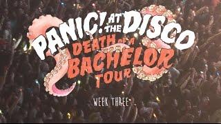 Panic! At The Disco Death Of A Bachelor Tour Week 3 Recap