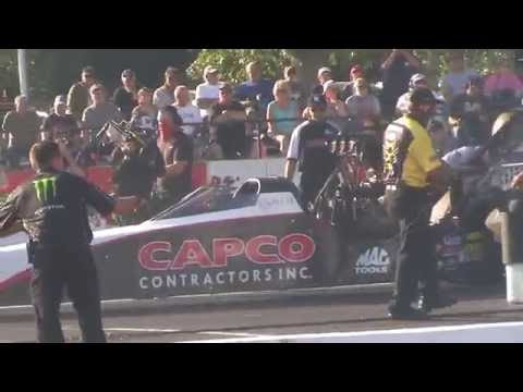 2016 NHRA - Top Fuel Qualifying - Friday - Englishtown NJ