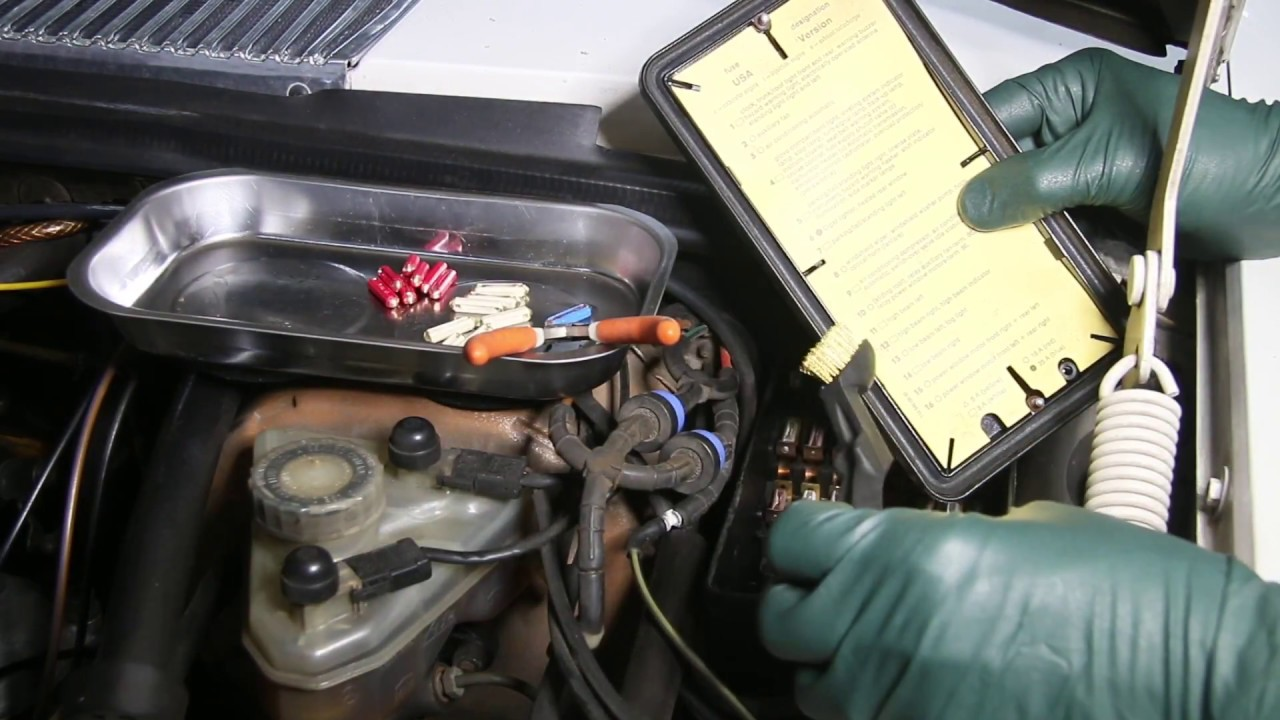 1961 to 1995 mercedes benz fuse box troubleshooting and service fuse box on mercedes benz e320 [ 1280 x 720 Pixel ]