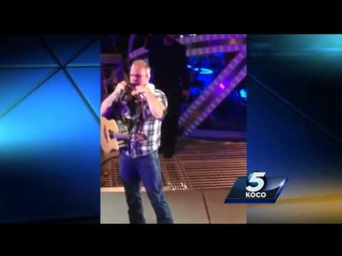 Fan gets Garth Brooks guitar back after it was sold to a pawn shop