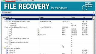 видео восстановление данных