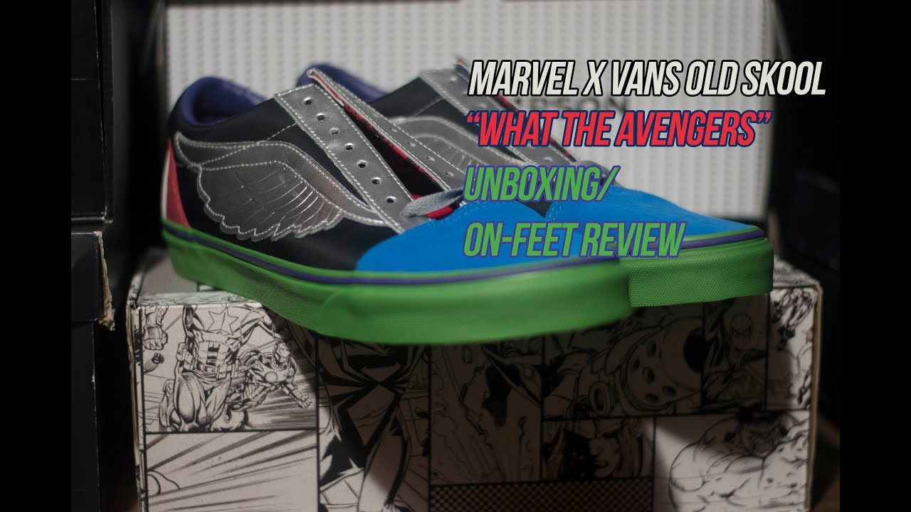 cd6fbeda22 Marvel x Vans Old Skool  What the Avengers