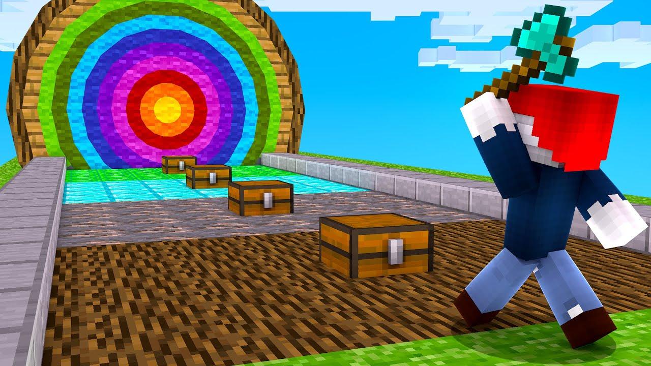 JEDER TREFFER gibt dir OBSIDIAN AUSRÜSTUNG! (Minecraft)