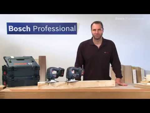 bosch gst 14 4 v li ferastrau vertical cu acumulator youtube. Black Bedroom Furniture Sets. Home Design Ideas