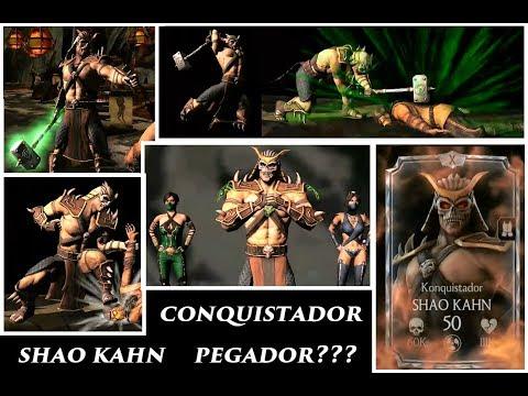 Mortal Kombat X - Finalmente Shao Kahn Full O Lutador Mais Forte do Jogo thumbnail