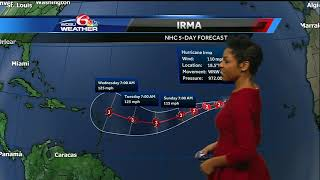 Tracking the Tropics 9/1/2017: Remnants of Harvey, what's next for Irma