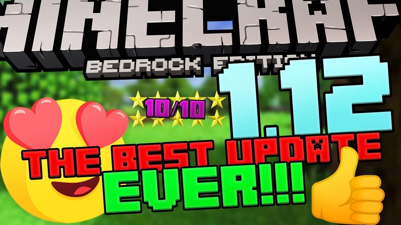 Minecraft Bedrock Edition 1 12 Update | MCBE MCPE | Minecraft PE 1 12 0