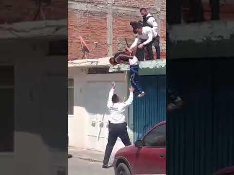 Maniobra Policía durante detención