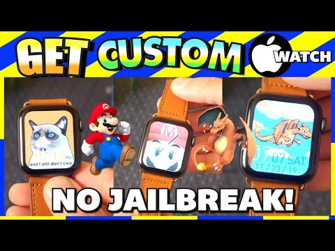 Get CUSTOM *Unlimited* Apple Watch Faces (NO JAILBREAK!) - 2019 (ALL SERIES) *AMAZING* Rolex, Hermes