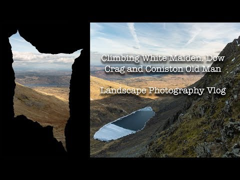 Walking The Skyline | Coniston Old Man And Dow Crag Landscape Photography
