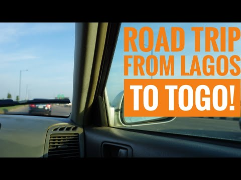 Togo Vlog Day 1 | Road trip from Lagos to Togo. Border experience, hotel, music and much more