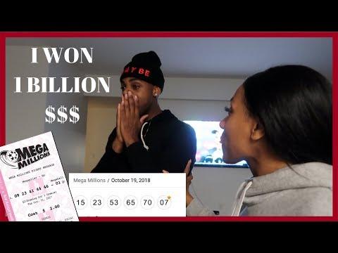 WINNING THE LOTTERY PRANK! OMG, 1 BILLION DOLLARS...