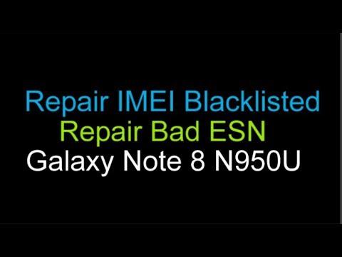 Blacklist IMEI Repair Samsung Galaxy Note 8 AT&T N950U by Unlock Phone
