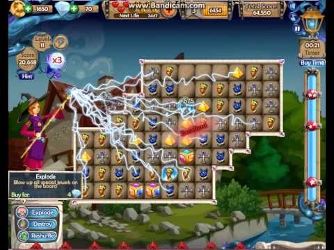 jewel kingdom  11 level facebook game