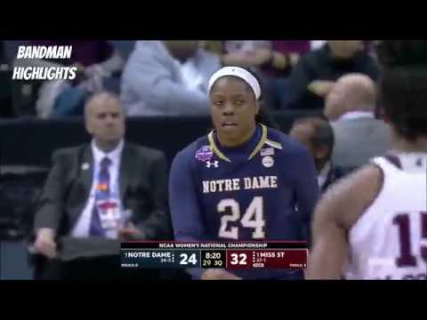 Notre Dame vs Mississippi State-Full Game Highlights/ 4.1.18 / NCAAW National Championship Game