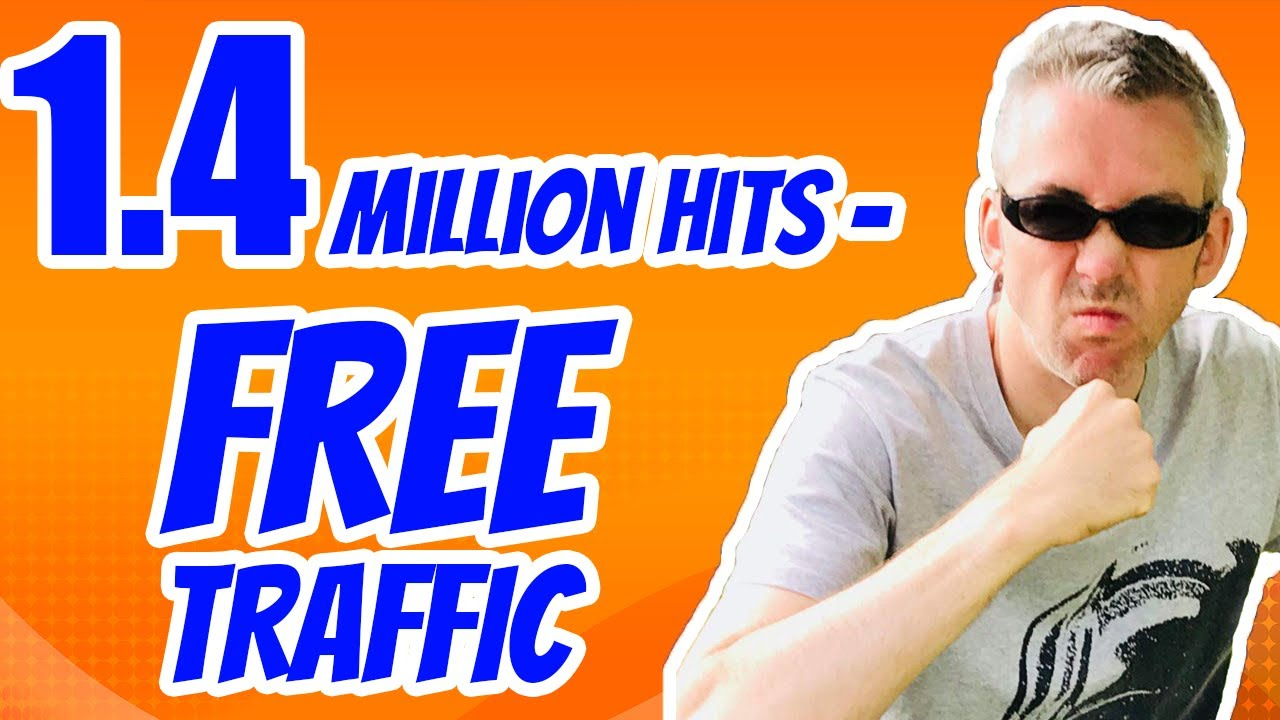 How to get more Free Traffic - 1.4 Million Visitors Per Month 🔥