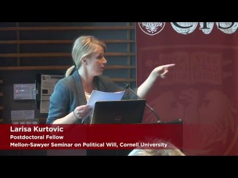 Larisa Kurtovic on Precarious Labor and Popular Indignation in Bosnia-Herzegovina