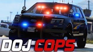 Dept. of Justice Cops #725 - Henry The Hammer Man