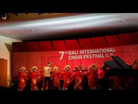 Gita Pramawisesa  UNESA   Toki Tifa   7th Bali International Choir Festival 2018