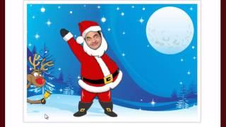 Fazer um Cartão animado de natal online