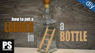 Ladder in a Bottle Trick