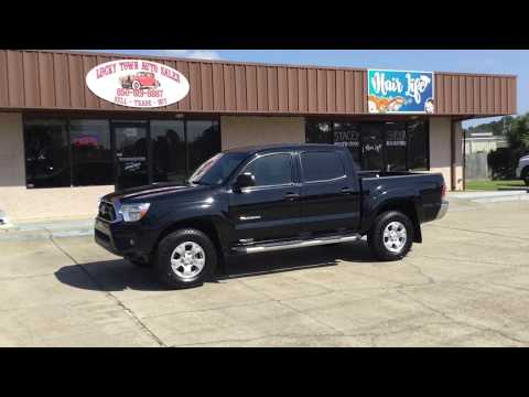 2013 Toyota Tacoma SR5 4x4 For Sale Lucky Town Auto Sales Panama City Florida