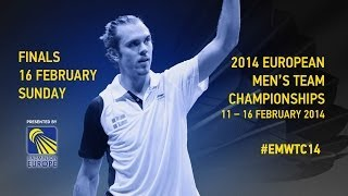 Final - Boe / Mogensen (DEN) vs Adcock / Ellis (ENG) - 2014 European Men