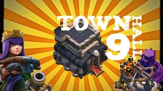 1. Clash of Clans-Town Hall 9! Gameplay and Upgrades