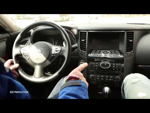 Infiniti QX70 - Большой тест-драйв (видеоверсия) / Big Test Drive