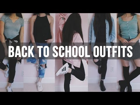 Back To School Outfit Ideas || OOTW Within Dress Code
