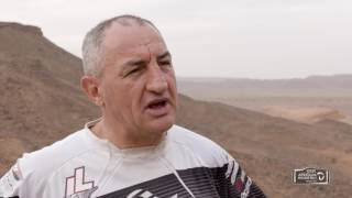 Interview with Giovanni Sala - Afriquia Merzouga Rally 2017