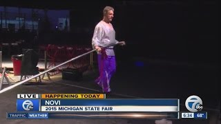 Shrine Circus and the Wallenda family at the Michigan State Fair