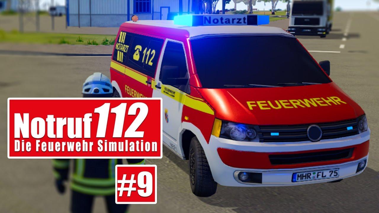 NOTRUF 112 #9: Verkehrsunfall VU 3! I Gameplay von Notruf 112 die ...