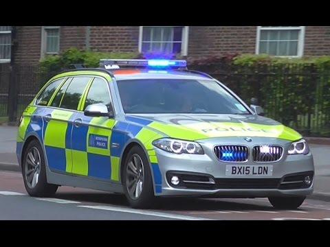 Metropolitan Police Traffic Car Responding very fast in ...