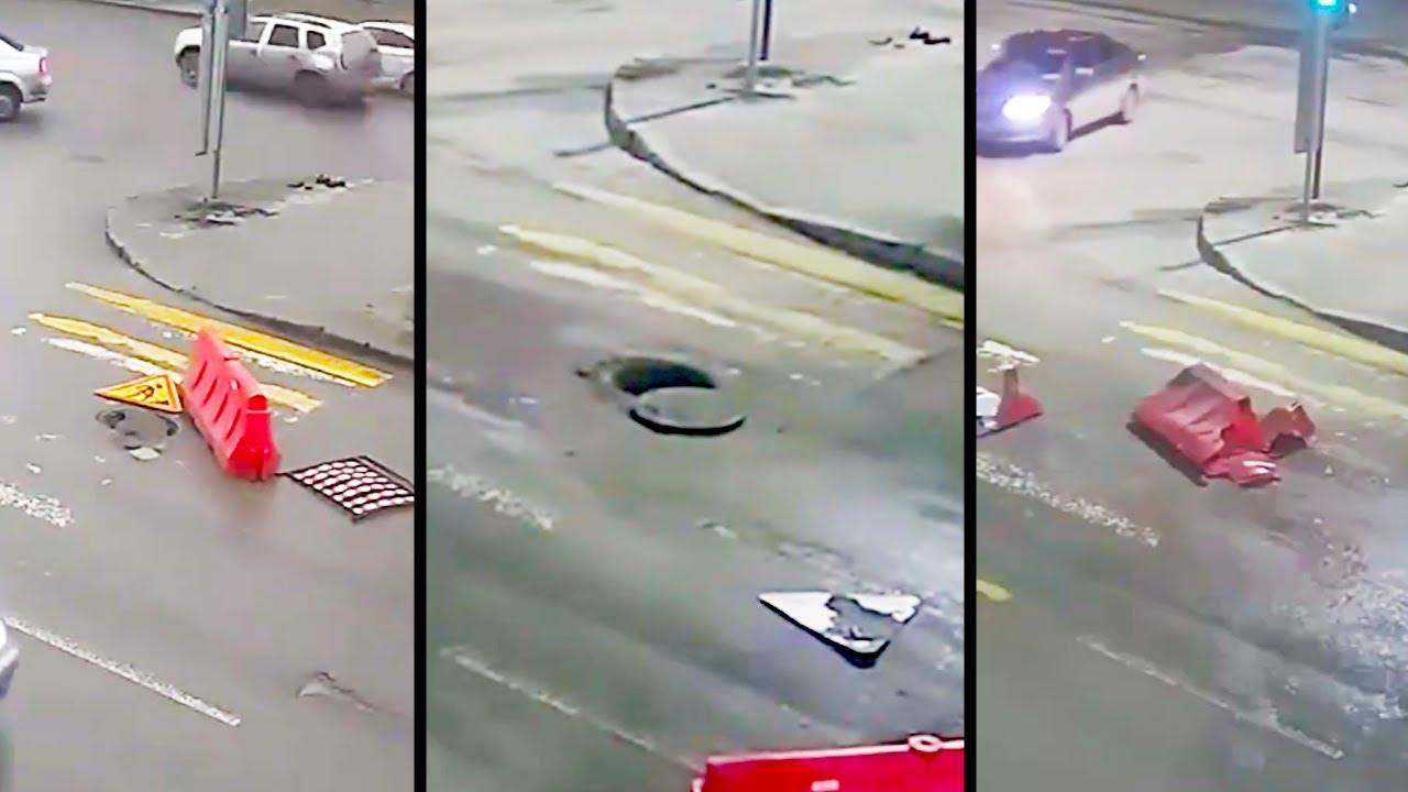 Ozzy Man Reviews: Russian Manholes