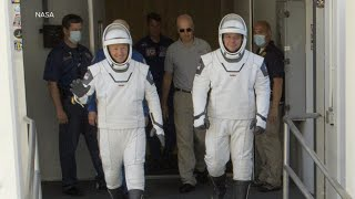 Astronauts prepare for return to space