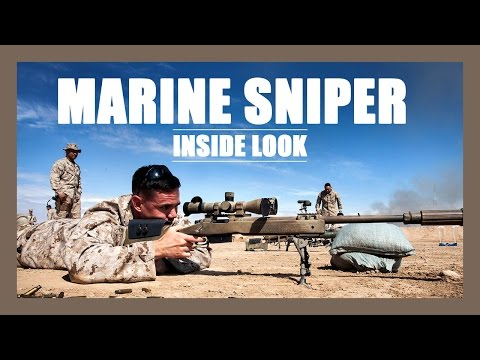 Marine Scout Sniper: Inside Look
