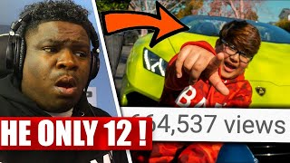 Quadeca Turning 12 Year Old Fan Into Viral Rapper (HE'S INSANE!!) - REACTION