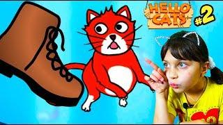 СПАСАЕМ КОТЕНКА в Hello Cats #2 ЧЕЛЛЕНДЖ Challenge Валеришка Для Детей kids children