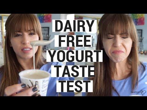 Vegan Yogurt Taste Test | Dairy Free Yogurt Review!