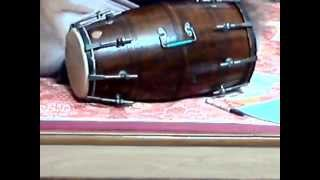 How to play dholak lesson 6-Rupak taal रूपक ताल 7 मात्रा