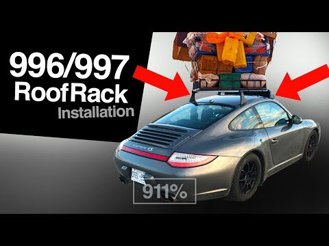 Porsche 996 997 Roof Rack Install DIY | 008