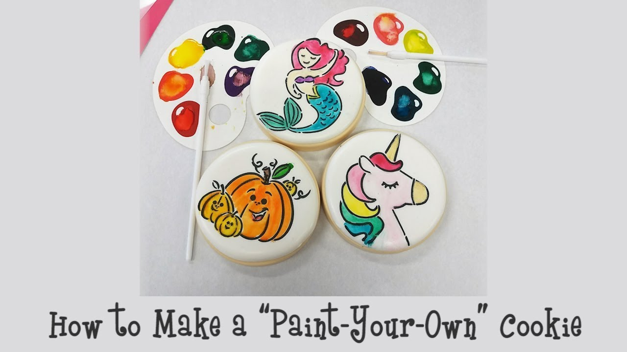 How To Make A Paint Your Own Cookie