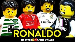RONALDO Evolution in LEGO CR7 legend 2002 2020 Cristiano Ronaldo from zero to hero Lego Football